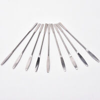 1Women Stainless Steel Nail Art Makeup Palette Spatula Tone Rods Tool Beauty GT