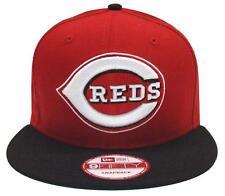 Cincinnati Reds Snapback New Era Word Mark Cap Hat Red Black