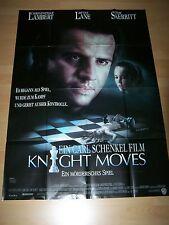 KNIGHT MOVES - Kinoplakat A0 ´92 - Christopher Lambert DIANE LANE Tom Skerritt