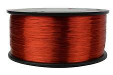 TEMCo Magnet Wire 30 AWG Gauge Enameled Copper 1.5lb 155C 4698ft Coil Winding