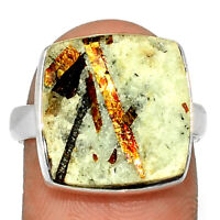 Astrophyllite 925 Sterling Silver Ring Jewelry s.8 ASTR473