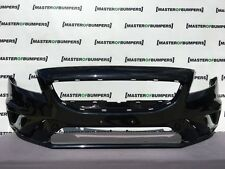 VOLVO V40 R DESIGN 2013-2017 FRONT BUMPER IN BLACK GENUINE [N59]