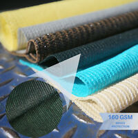 Green Custom 8' FT Fabric Roll Shade Cloth Fence Outdoor Windscreen Privacy Mesh