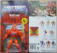 Beast Man Neo Vintage Collection WAVE 2 SUPER 7 MOTU Masters of the Universe NEU