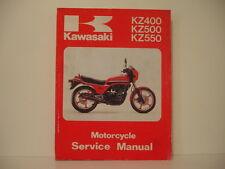 manuel atelier service manual  KAWASAKI KZ400/500/550