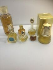 Estate Find Lot of 7 Vintage Avon Perfumes