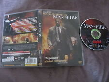 Man on fire de Tony Scott avec Denzel Washington, DVD, Action