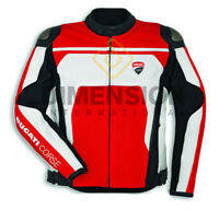 Ducati Corse C4 Jacket  Motorbike/Motorcycle Riding Jacket CE  Leather jacket