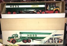 1972 Hess Tanker Truck, all lights work, rare, vintage, collectible, Marx Toys !