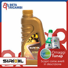 Olio motore Siroil 5W30 Long Life per motori Opel Fiat BMW Mercedes