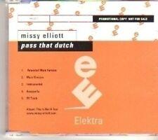 (CT422) Missy Elliott, Pass That Dutch - DJ CD