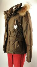 Apriori Parka Daune 38 Jacke braun Mantel Jacke Pelzkapuze jacket neu m Etikett