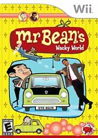 WII MR BEAN`S WACKY WORLD OF WII JUEGO PARA NINTENDO WII- UN CLASICO
