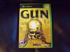 Gun  (Xbox, 2005) EUC FREE USA SHIPPING
