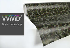 Digital camouflage car boat vinyl wrap 50ft x 5ft 3MIL vehicle stretch adhesive