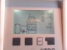 Differenzregelung für Wassergeführter Kamin Regler mit Wärmemengenzählung