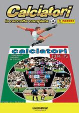 ALBUM PANINI CALCIATORI LA RACCOLTA COMPLETA 1974-75 1975 GAZZETTA DELLO SPORT