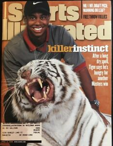 Sports Illustrated Magazine April 13, 1998 Tiger Woods Cover