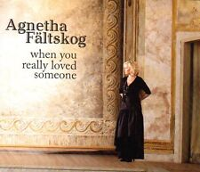 Single CD Agnetha Fältskog ABBA -When you really loved someone, 2013, RAR RARE