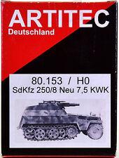 Artitec / Artmaster 80.153 – Bausatz Sonderkraftfahrzeug 250/8 Neu 7,5 KWK