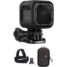 Brand New GoPro HERO5 Session with Head Strap + QuickClip Kit Dashpoint AVC 1
