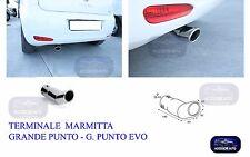 Terminale Marmitta-Codino  -Terminale di Scarico Fiat Grande Punto Evo 2005>