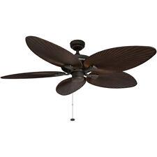 Honeywell Palm Island Ceiling Fan, Bronze Finish, 52 Inch - 50207