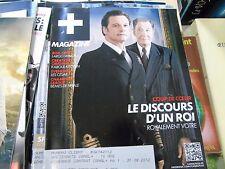 Magazine canal + février 2012 le discours d'un roi kaboul kitchen largo winch 2