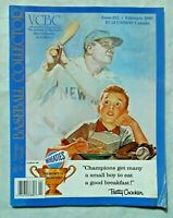 The Vintage&Classic Baseball Collector Magazine  #22 February 2000 (VG)