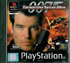 007: Tomorrow Never Dies Sony Playstation 1 PS1 15+ FPS Shooter Game