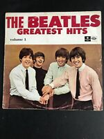 The Beatles Greatest Hits Volume 1 Vinyl SLEEVE ONLY G+ see pictures Australia