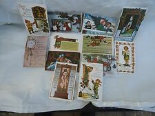VICTORIAN CHRISTMAS REPRODUCTION POSTCARDS SET OF 12