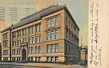 Troy New York ~ Haut École ~ Photographe 1909 Photo Carte Postale