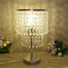 Crystal Dimmer LED Table Lamp Modern Desk light Lamp Bedroom Lighting Bulb