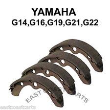 Yamaha G14, G16, G19, G22 1993-up Rear Brake Shoe (set of 4 Shoes) JN3-F5330