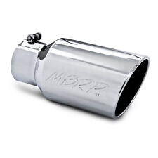 MBRP Universal Diesel Polished Exhaust Tip Ford Dodge Chevrolet Free Shipping!