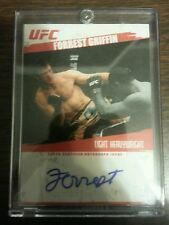 2009 Topps UFC Certified Autograph Issue #d FA-FG Forest Griffin -RARE