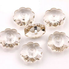 New Charms Glass Crystal Faceted Loose Pendant Spacer Finding Beads Butterfly