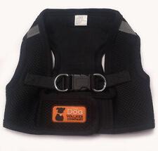 New listing The Dog Walker Company Medium Mesh Harness Black Puppy/Dog