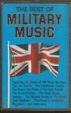 THE BEST OF MILITARY MUSIC ~ CASSETTE TAPES