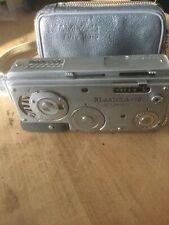 Vintage Mamiya 16 camera with zipper case