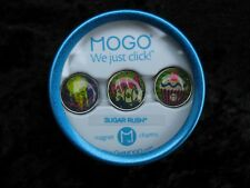 MOGO Magnetic Charms Sugar Rush We Just Click Set of 3 Charms in Tin *New*
