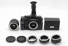 CONTAX RX, Mutar II 2X, Carl Zeiss Ext.Tube(13,20,27mm), Angle Finder【Near Mint】