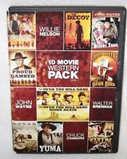 10Movie DVD The Decoy GATLING GUN Sitting Bull YUMA Clint Walker Edgar Buchanan