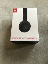 Beats By Dr Dre Solo 3 Wireless Black Boxed
