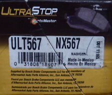 BRAND NEW ULTRA STOP NX567 / D567 REAR BRAKE PADS FITS 92-00 MITSUBISHI MONTERO