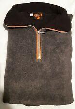 More details for alton towers oblivion fleece official 1998 launch merchandise rare size large