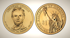 2010 P Abraham Lincoln Presidential Series Dollar UNC MS Uncirculated!!