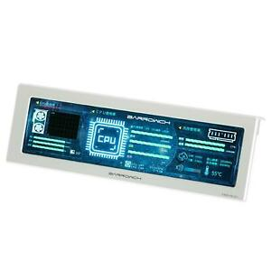 BarrowCH 250mm IPS High Definition System Monitoring LCD Display - Silver