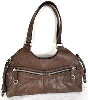 Miu Miu Brown Leather Shoulder Hand Women Bag